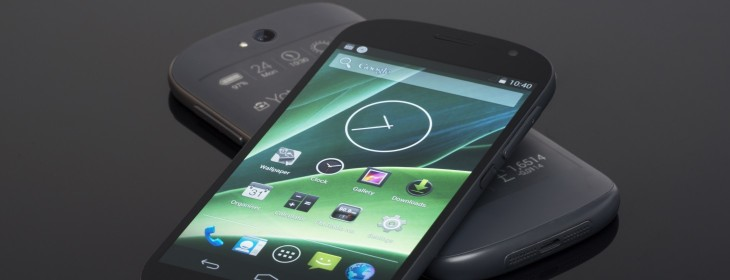 """This is the new YotaPhone: A 5"""" Android smartphone with a ..."""