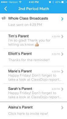 03 - Messaging inbox
