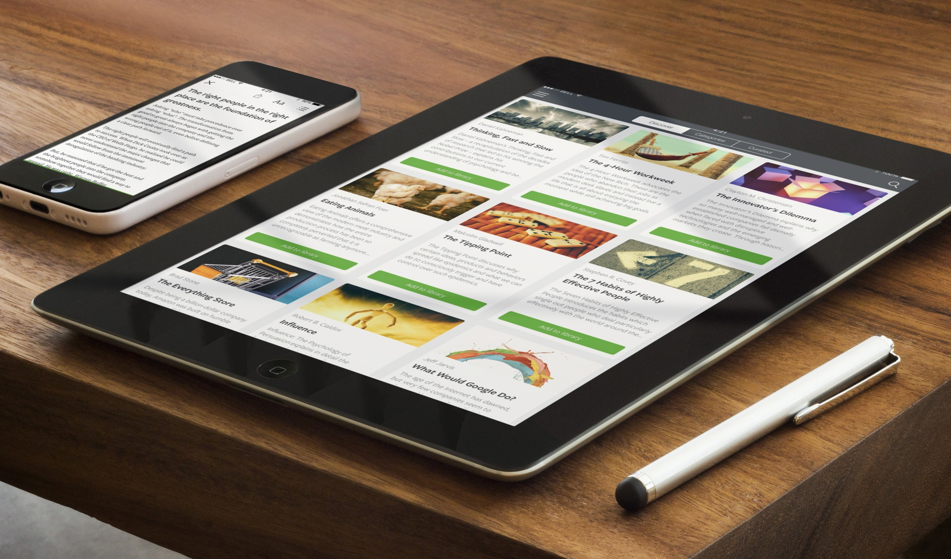 Blinkist Arrives for iPad