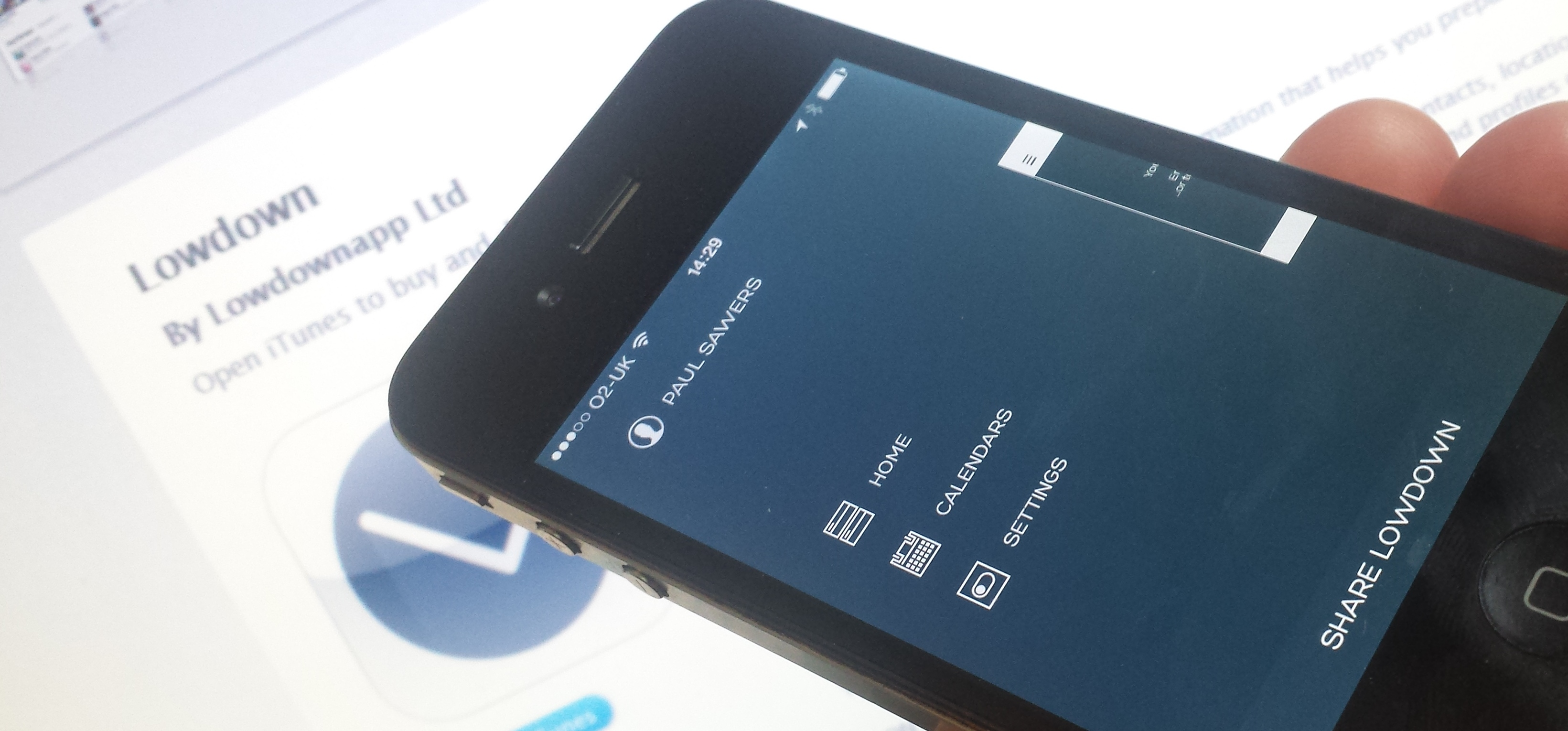 Lowdown: An iPhone App for Smarter Meetings
