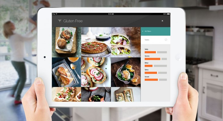 Recipe search platform Yummly now caters for iPad users