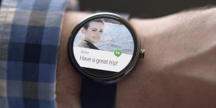 Google Play store now has a dedicated section for you to download Android Wear apps