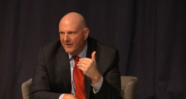 Steve Ballmer's Advice for Startups