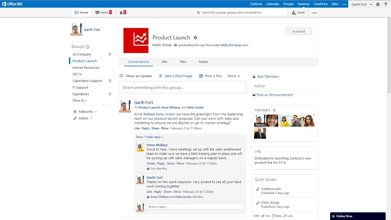 Microsoft to add social office graph features to office 365 in 2014 - Yammer office 365 integration ...