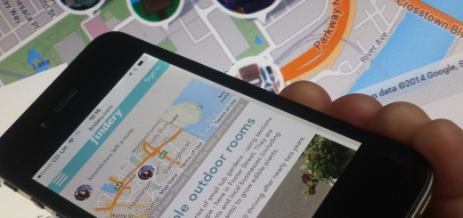 Findery 520x245 Fakes Findery: Flickr co founder brings her social, notes based map of the world to iOS