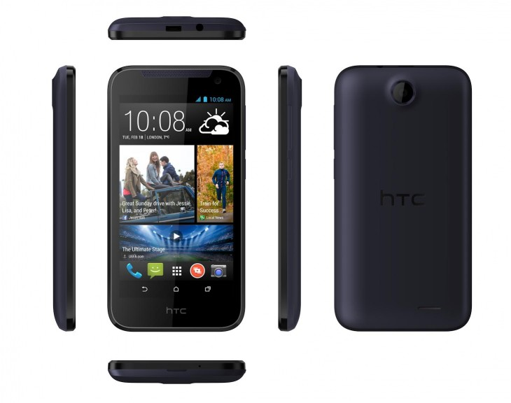 HTCDesire310 730x576 HTC launches Desire 310 entry level smartphone with 1.3GHz quad core processor and 4.5 display