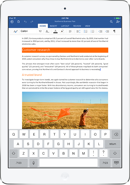 Microsoft Launches Office for iPad: Word, Excel, and ...