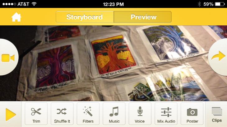Montaj video app for iphone