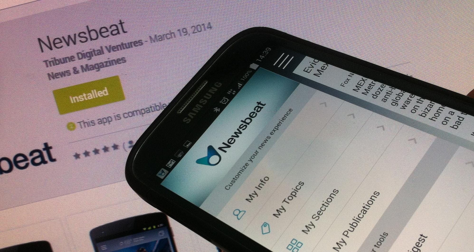 Tribune's Newsbeat App Reads You the News