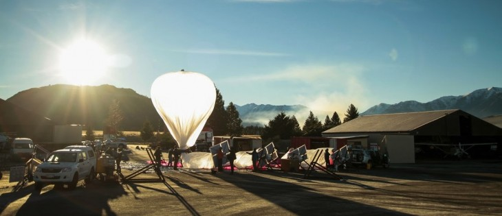 Track Google's Project Loon Internet balloons in real time as they travel the world