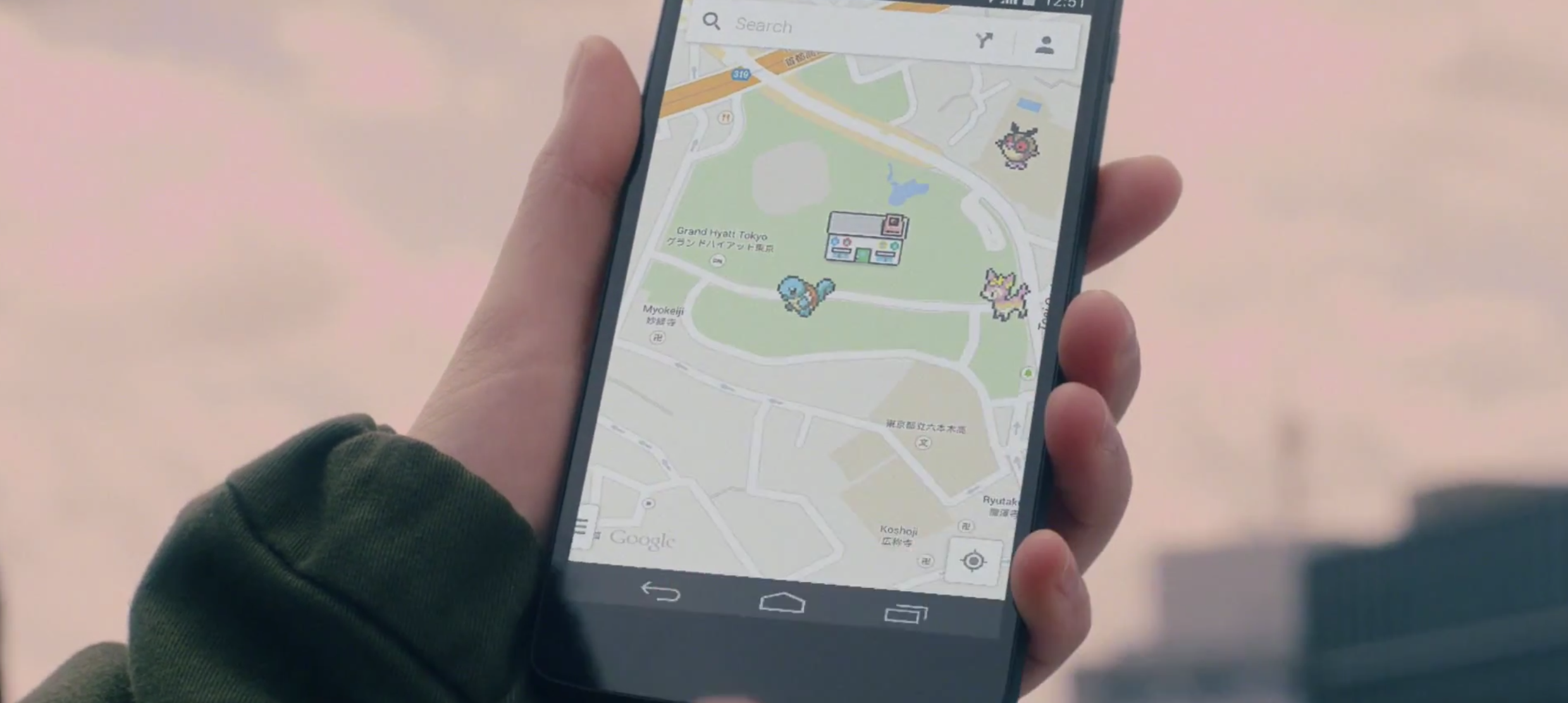 Google Maps Lets You Catch Pokemon On Your Smartphone - Nyc map google maps