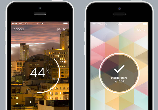 WeTransfer WeTransfer arrives for iOS allowing you to send up to 10GB of photos or videos in one go