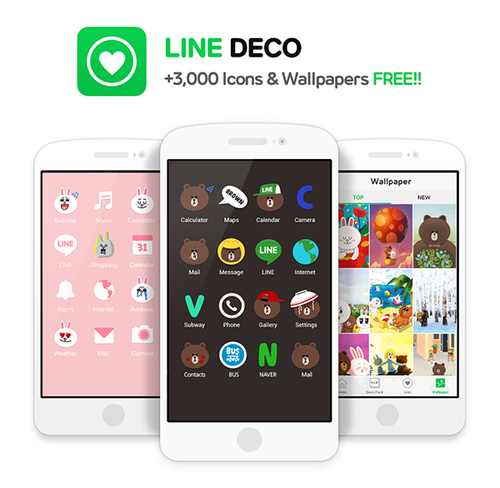 Line Wants to Replace Boring iOS/Android App Icons