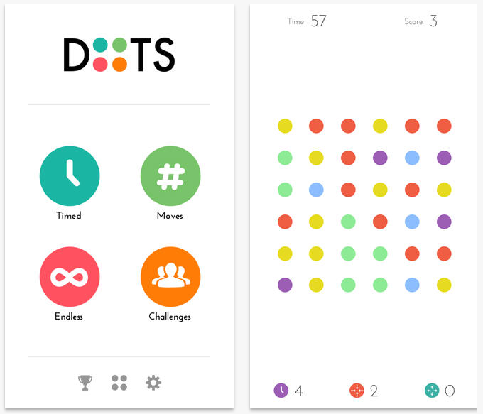 This New App Lets You Play And Compete To Design Your: Dots Now Lets You Challenge Your Friends