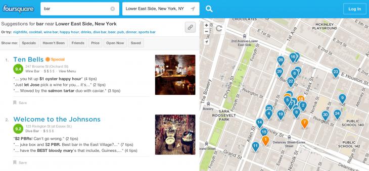 foursquare bar