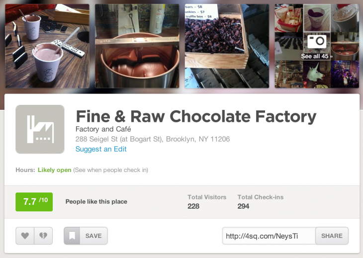 foursquare best social media platforms for business