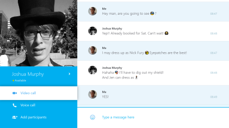 Skype for Xbox One Gets Synced Chats, Push Notifications