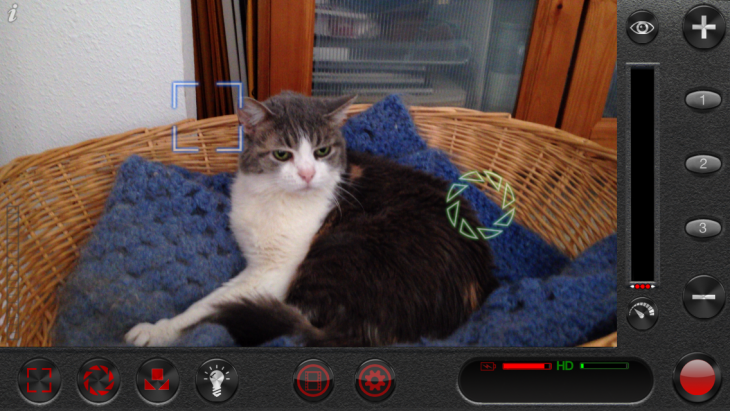 Filmic Pro video app for iPhone