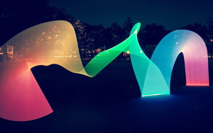Pixelstick: Light painting evolved to span video and photos