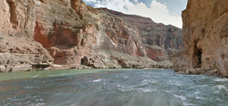 Google now lets you ride the Colorado River's whitewater rapids on Street View