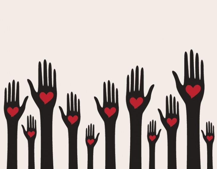 Hearts on Hands by tikiri