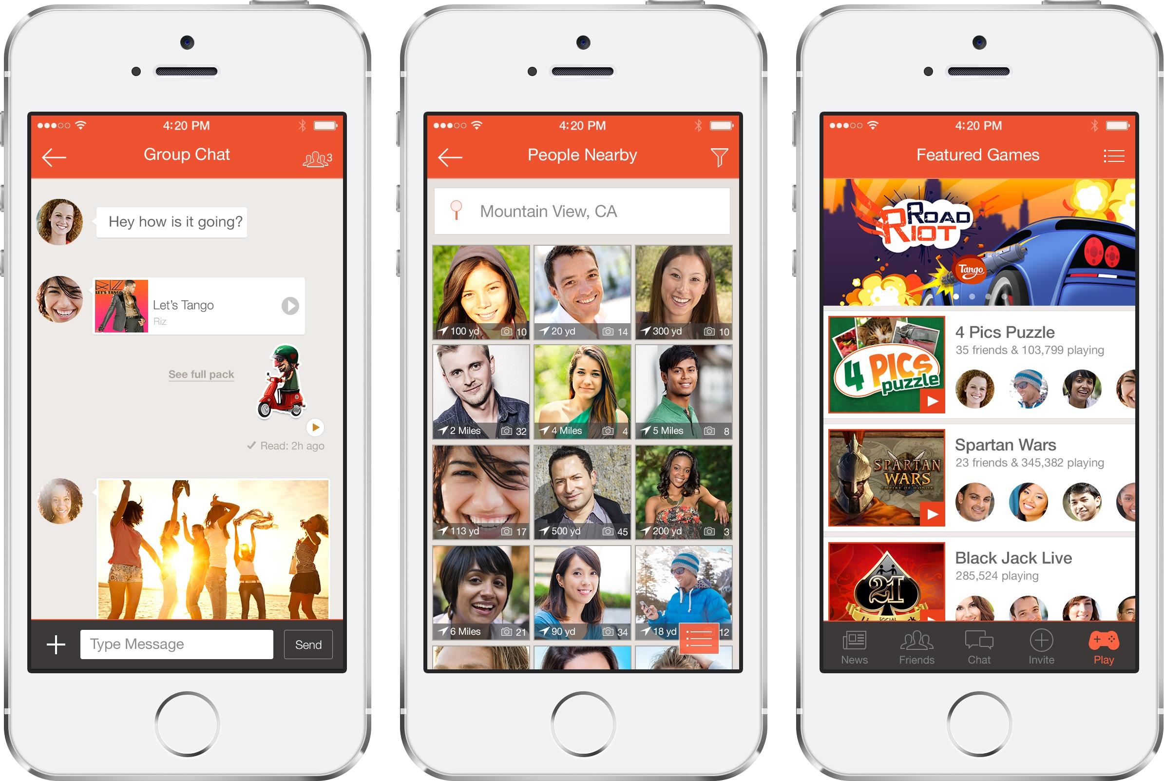 Messaging App Tango Lands $280 Million Investment