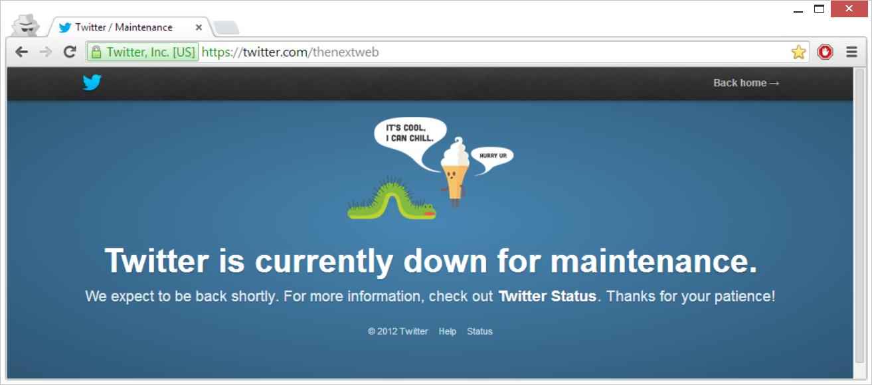 Twitter Down?