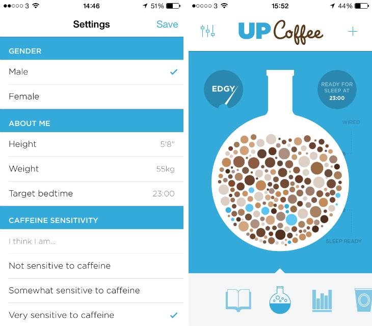 Up coffee app