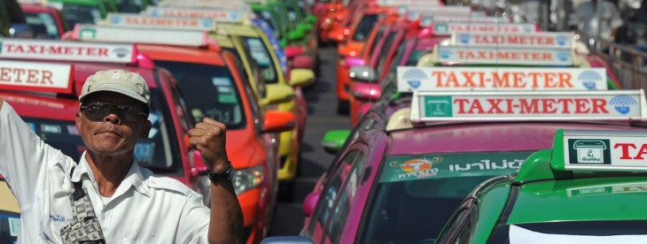 GrabTaxi is growing a taxi-booking service in Southeast Asia using a unique model