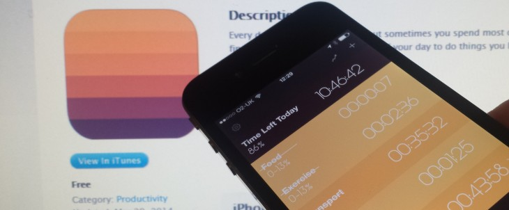 Day Flow for iPhone is a simple time-tracker that helps you visualize your efficiency