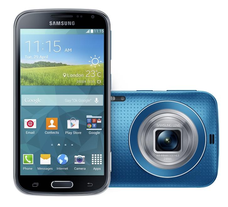 Samsung's Galaxy K Zoom smartphone packs a 20 megapixel ...