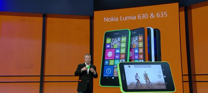 Nokia unveils the budget 3G Lumia 630 and 4G Lumia 635 smartphones