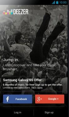 Deezer-on-Samsung