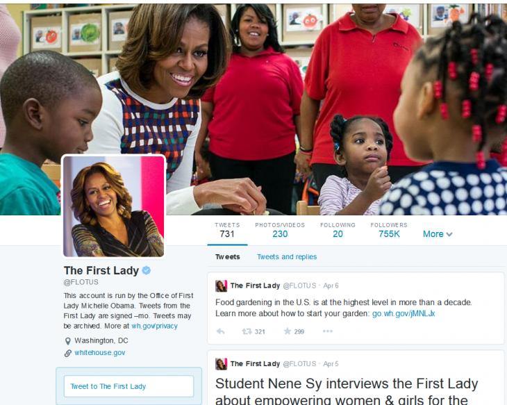FireShot Screen Capture #124 - 'The First Lady (FLOTUS) on Twitter' - twitter_com_flotus