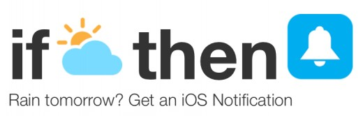 IFTTT push notification