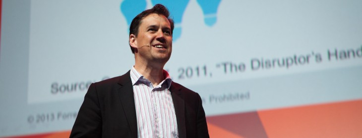 'Disruption has become disrupted': Forrester's James McQuivey at TNW Europe Conference ...