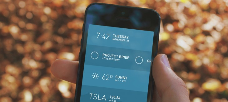 Morning for iPhone gives you all the need-to-knows to start your day