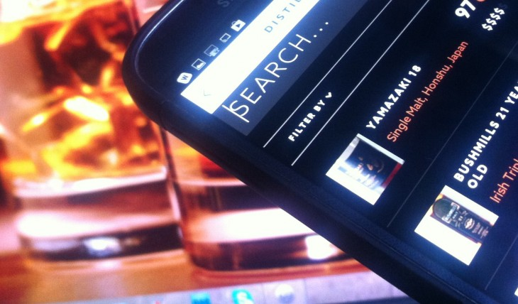 Distiller's whisky-drinking companion app is now served on Android too