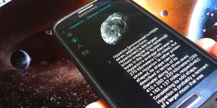 Solar Walk for Android guides you through our solar system with stunning visuals