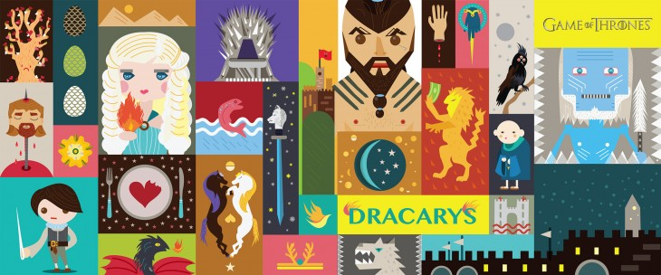Giant art works inspired by HBO's Game of Thrones, Girls, and Oz engage Israel's shoppers ...