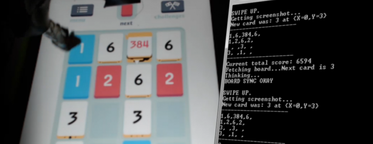 This robot playing Threes is hypnotic and better than you