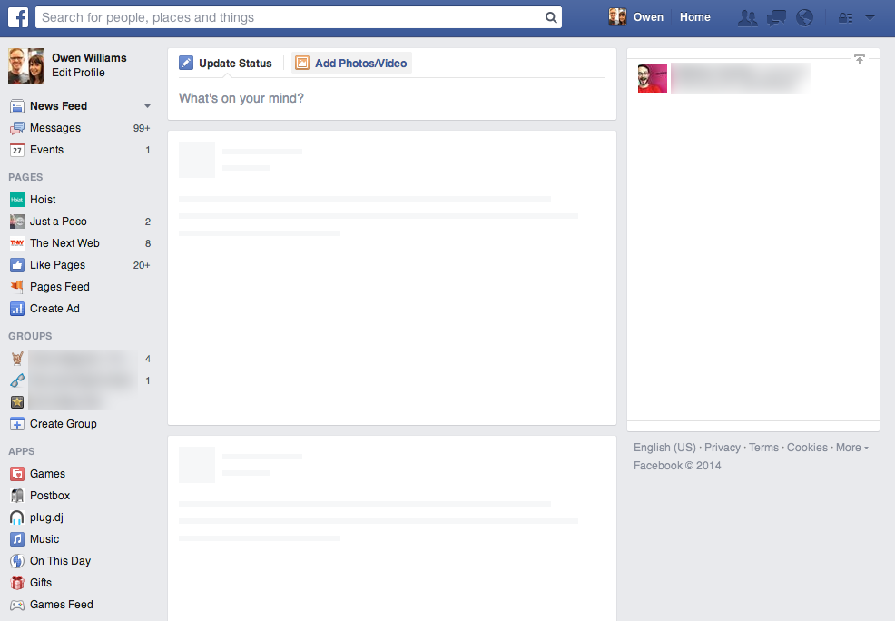 Facebook Suffering 'No Content in This Feed' Error