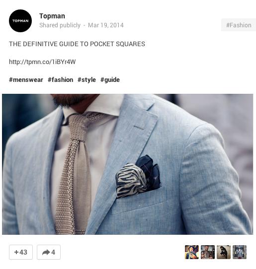 Top Man Google Plus
