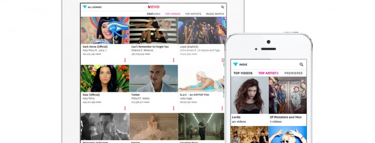 Vevo launches a completely redesigned iOS app, emphasizing discovery and playlists