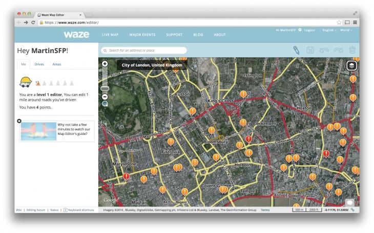 Waze's Map Editor