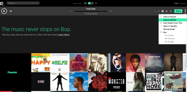 Bop.fm launches iOS app to help you find music across streaming services
