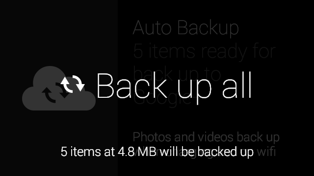 how to delete all google auto backup photos