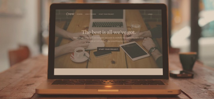Ooomf rebrands its website and mobile app development talent marketplace as Crew