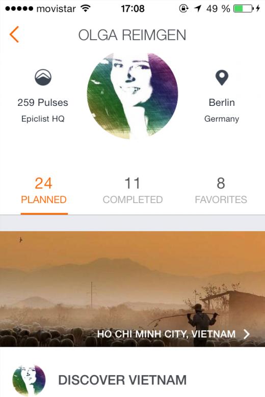 epiclist profile olga reimgen