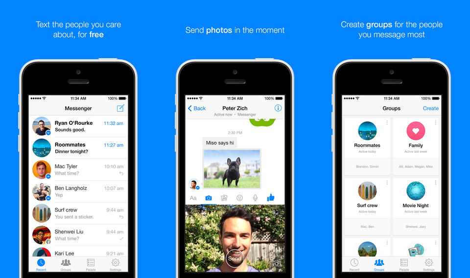 Facebook Messenger for Android and iOS Now Has Voice Messages